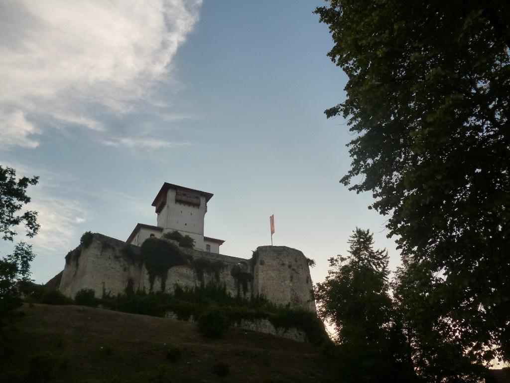 Вид на крепость из городского парка. Фото: Елена Арсениевич, CC BY-SA 3.0