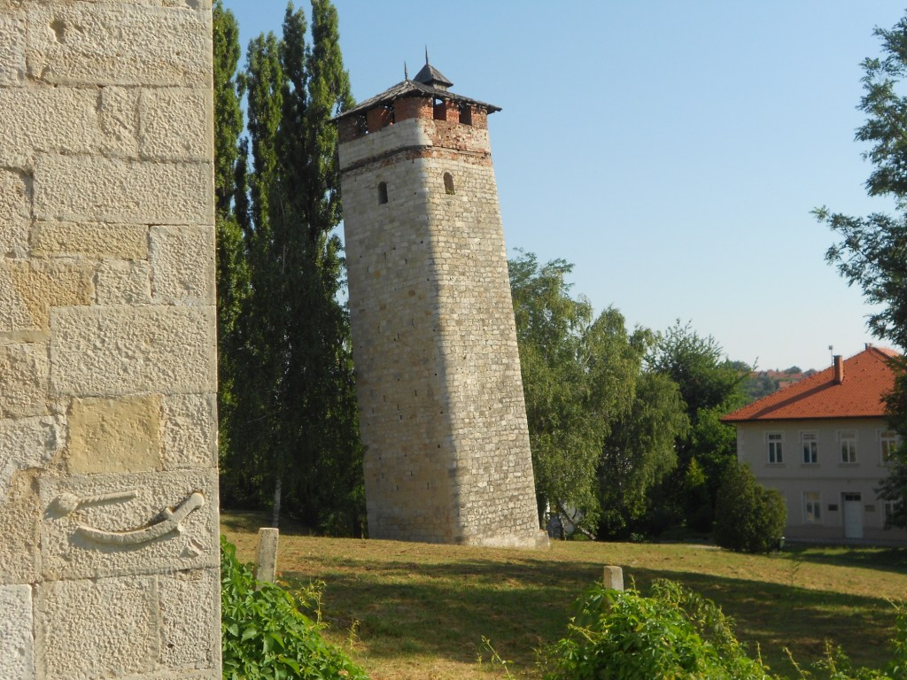 Часовая башня в Градачце. Фото: Елена Арсениевич, CC BY-SA 3.0