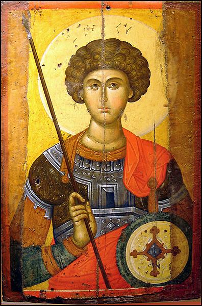 Св. Великомученик Георгий. Фото: Ricardo André Frantz, CC BY-SA 3.0
