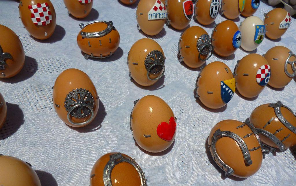 Подкованные яйца из Крешево. Фото: Елена Арсениевич, CC BY-SA 3.0