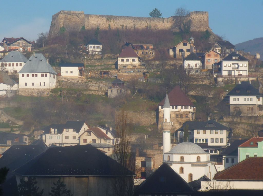 Цитадель на вершине холма. Фото: Елена Арсениевич, CC BY-SA 3.0