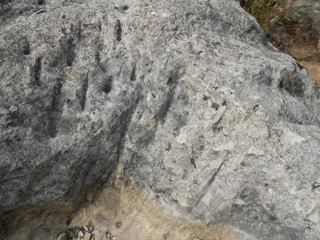 Следы долота, которым почти две тысячи лет. Фото: Елена Арсениевич, CC BY-SA 3.0