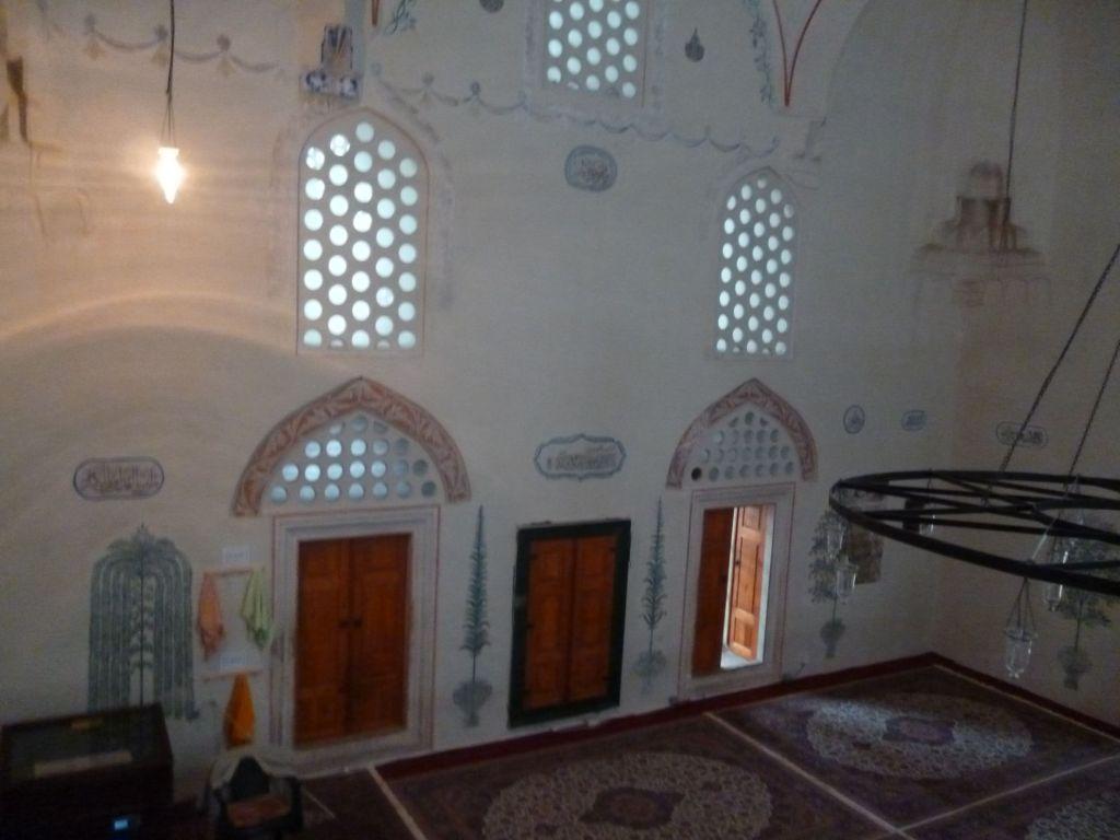 Росписи мечети. Фото: Елена Арсениевич, CC BY-SA 3.0