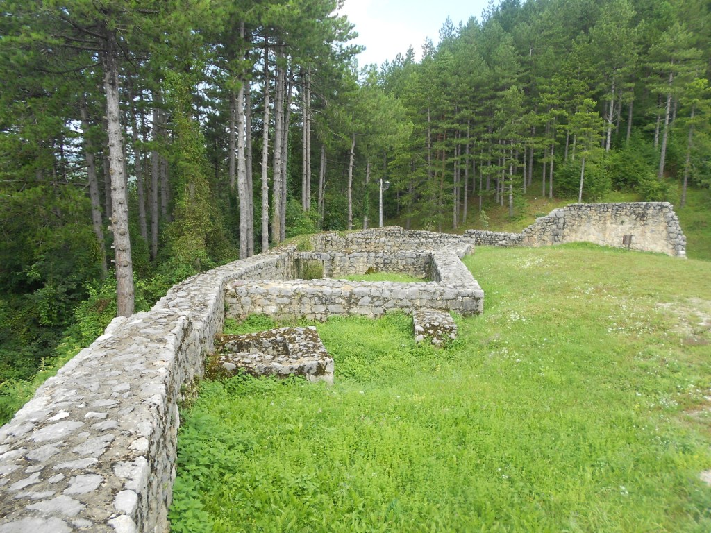 Остатки построек османского периода. Фото: Елена Арсениевич, CC BY-SA 3.0