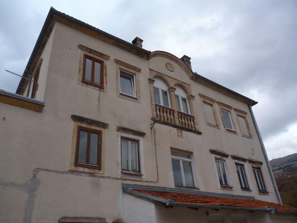 Фасад, выходящий во двор. Фото: Елена Арсениевич, CC BY-SA 3.0