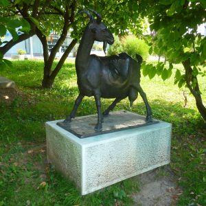 Памятник козе. Фото: Елена Арсениевич, CC BY-SA 3.0
