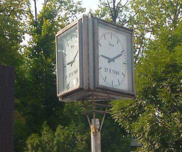 На часах всегда 9.11. Фото: Елена Арсениевич, CC BY-SA 3.0