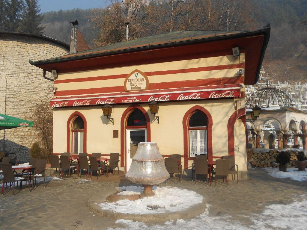 Культовая кофейня в Травнике. Фото: Елена Арсениевич, CC BY-SA 3.0