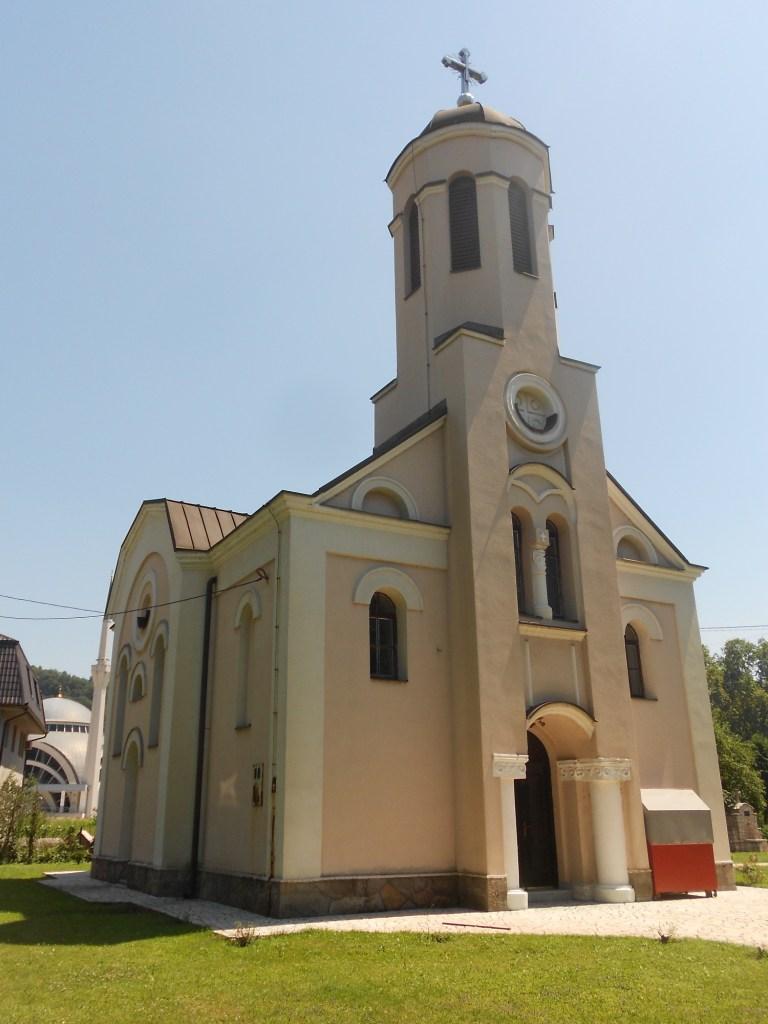 Церковь в византийском стиле в Маглае. Фото: Елена Арсениевич, CC BY-SA 3.0