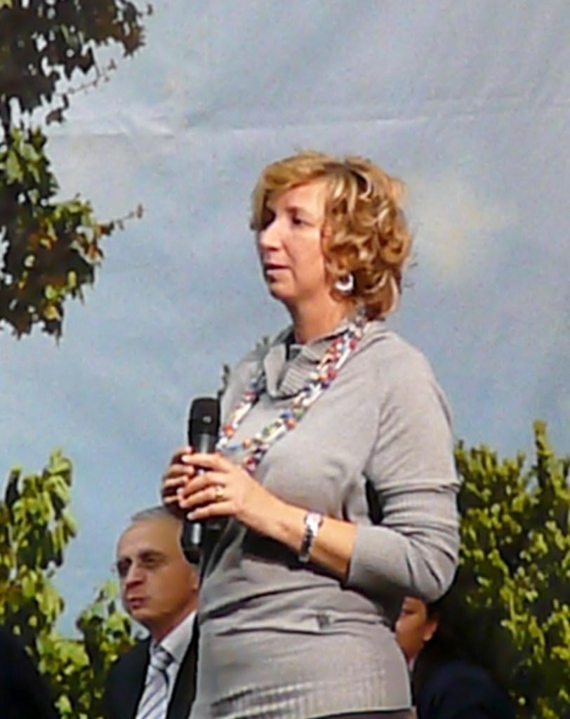 Мария Павлович, одна из визионеров. Фото: Llorenzi, CC-BY-SA-3.0