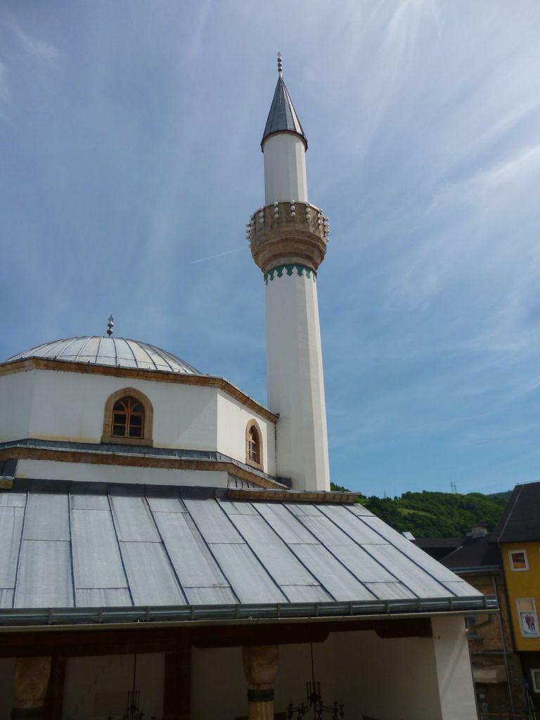 Минарет мечети Эсме Султании. Фото: Елена Арсениевич, CC BY-SA 3.0