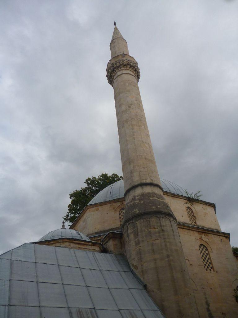 Минарет Караджозбеговой мечети. Фото: Елена Арсениевич, CC BY-SA 3.0