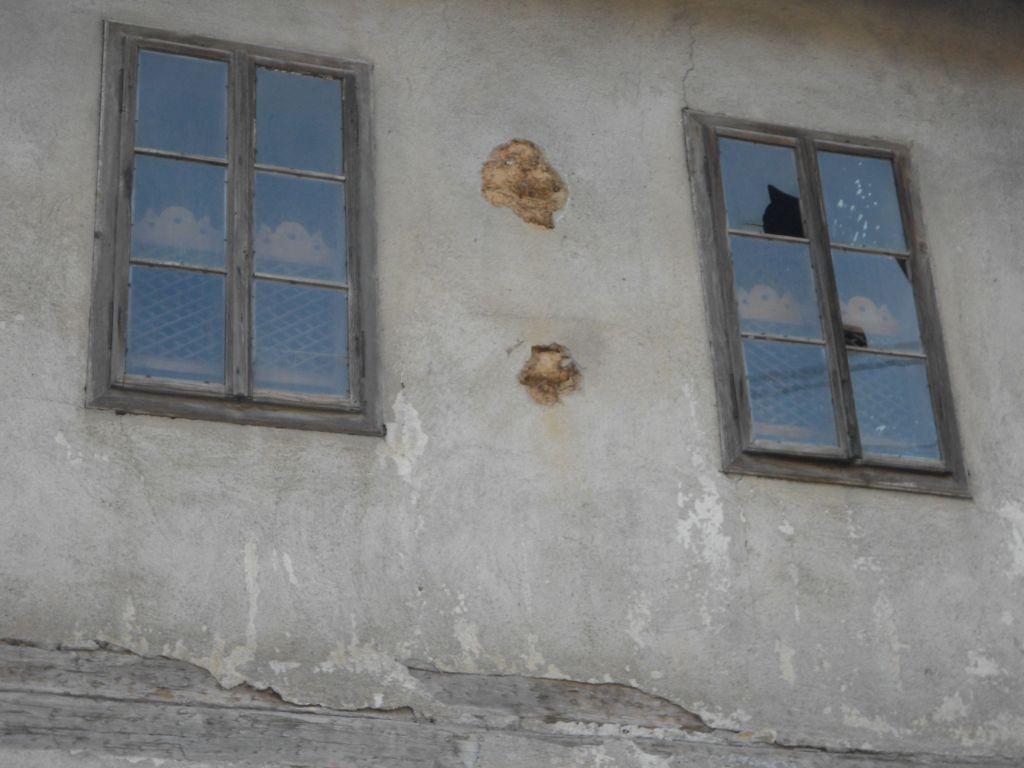 Окна с мушебками, деревянными решётками. Фото: Елена Арсениевич, CC BY-SA 3.0