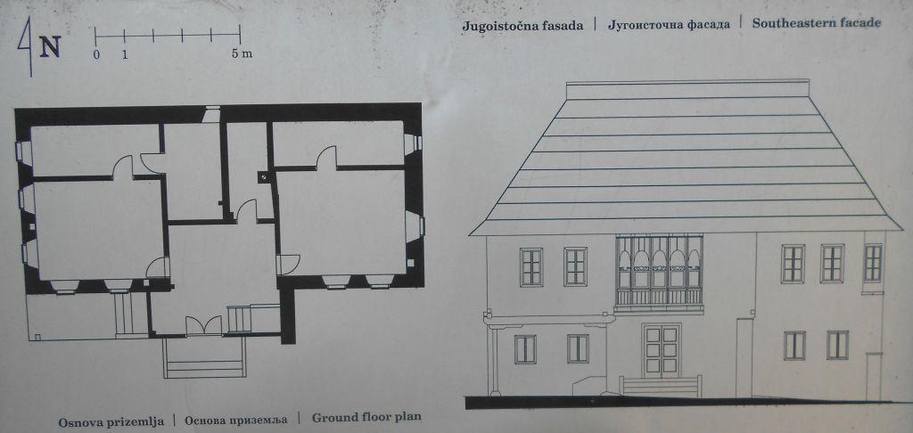 План и фасад. Фото: Елена Арсениевич, CC BY-SA 3.0