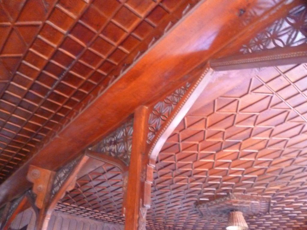 Деревянные элементы – часть аутентичного интерьера дома. Фото: Елена Арсениевич, CC BY-SA 3.0