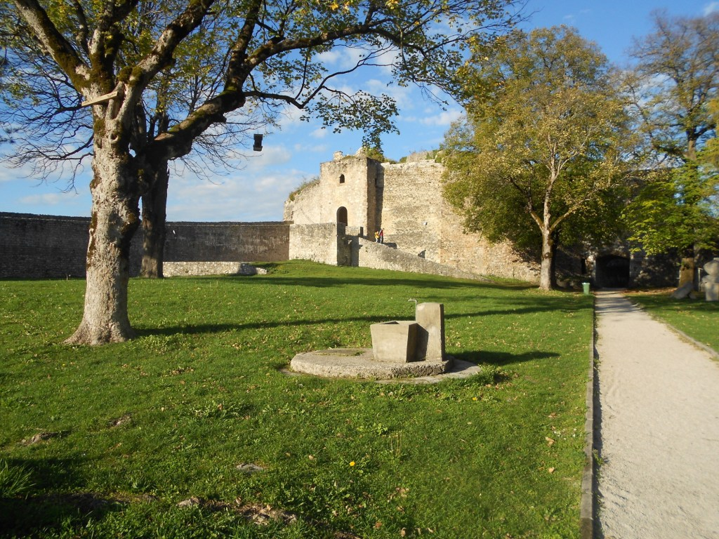 Двор крепости. Фото: Елена Арсениевич, CC BY-SA 3.0