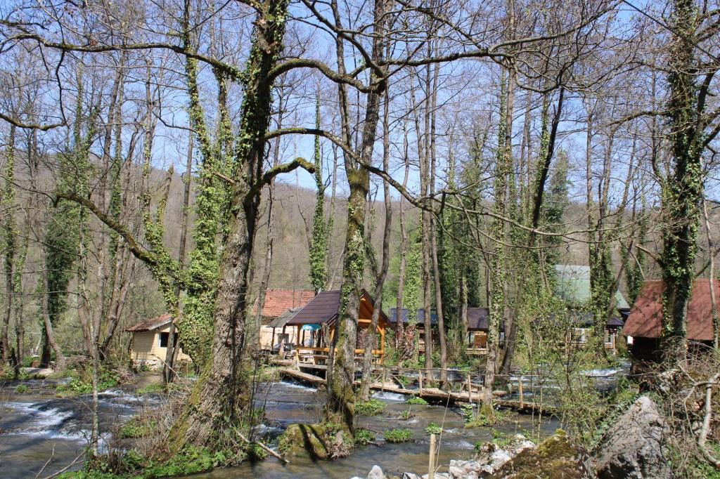 Перемещаться нужно по мостикам. Фото: Елена Арсениевич, CC BY-SA 3.0
