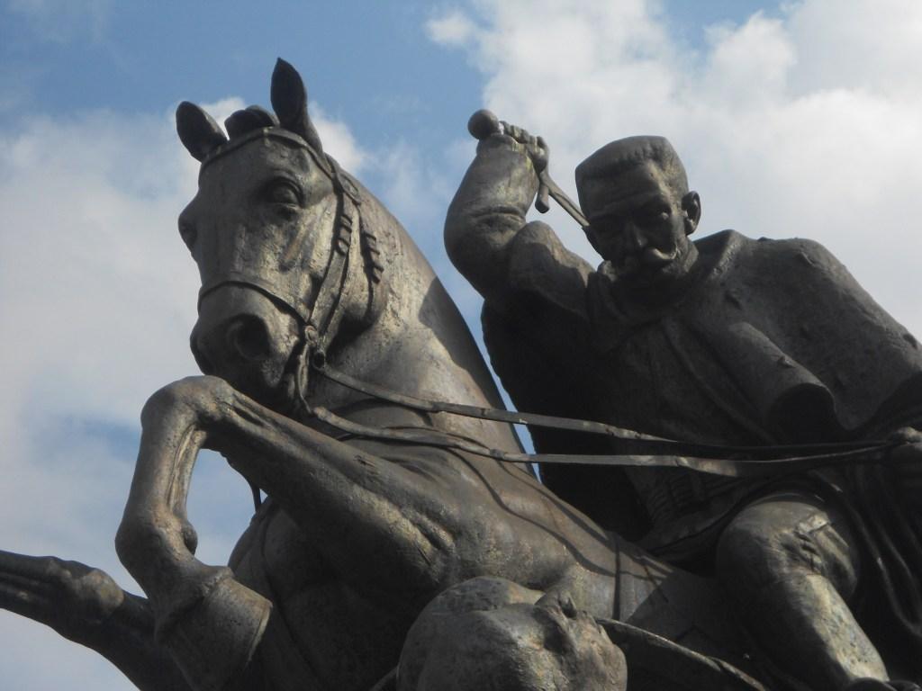 Памятник Петру I Караджорджевичу. Фрагмент. Фото: Елена Арсениевич, CC BY-SA 3.0
