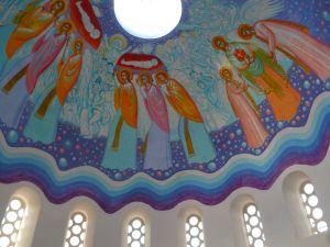 Роспись купола. Автор Стаматис Склирис. Фото: Елена Арсениевич, CC BY-SA 3.0