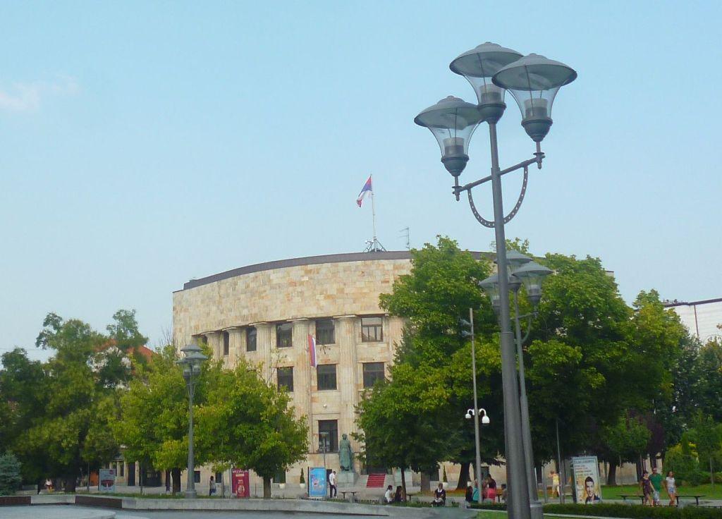 Палата Республики, вид с площади Краины. Фото: Елена Арсениевич, CC BY-SA 3.0