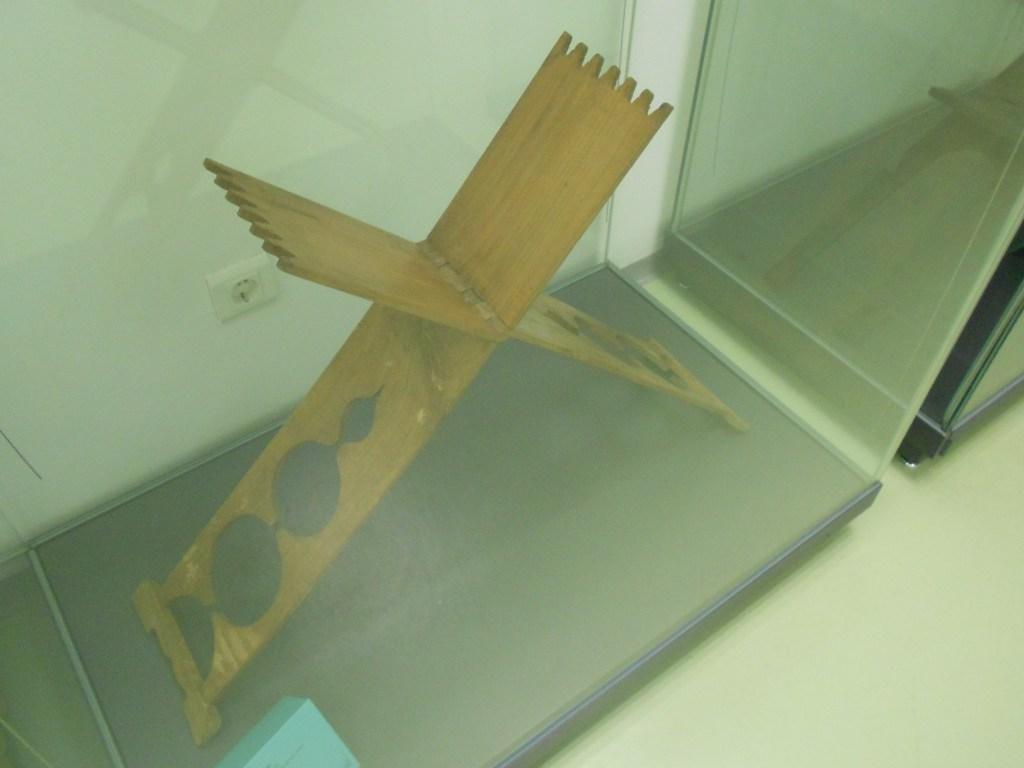 Деревянные рахле в музее библиотеки Гази Хусрев-бега. Фото: Елена Арсениевич, CC BY-SA 3.0