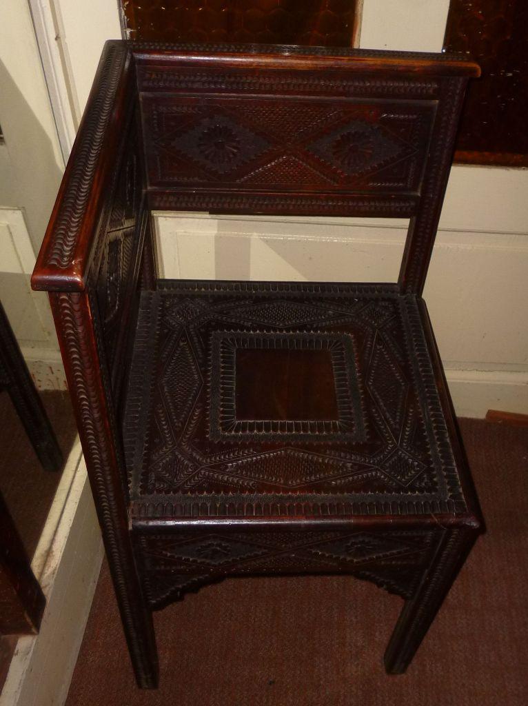 Этому стулу более ста лет. Фото: Елена Арсениевич, CC BY-SA 3.0