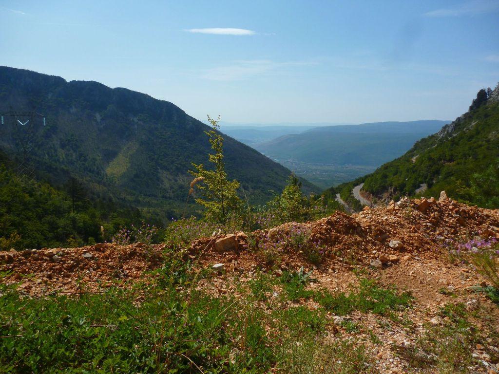 Вид с дороги к Руиште. Долина Неретвы. Фото: Елена Арсениевич, CC BY-SA 3.0