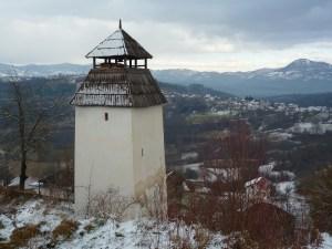 Часовая башня в Прусце. Фото: Елена Арсениевич, CC BY-SA 3.0