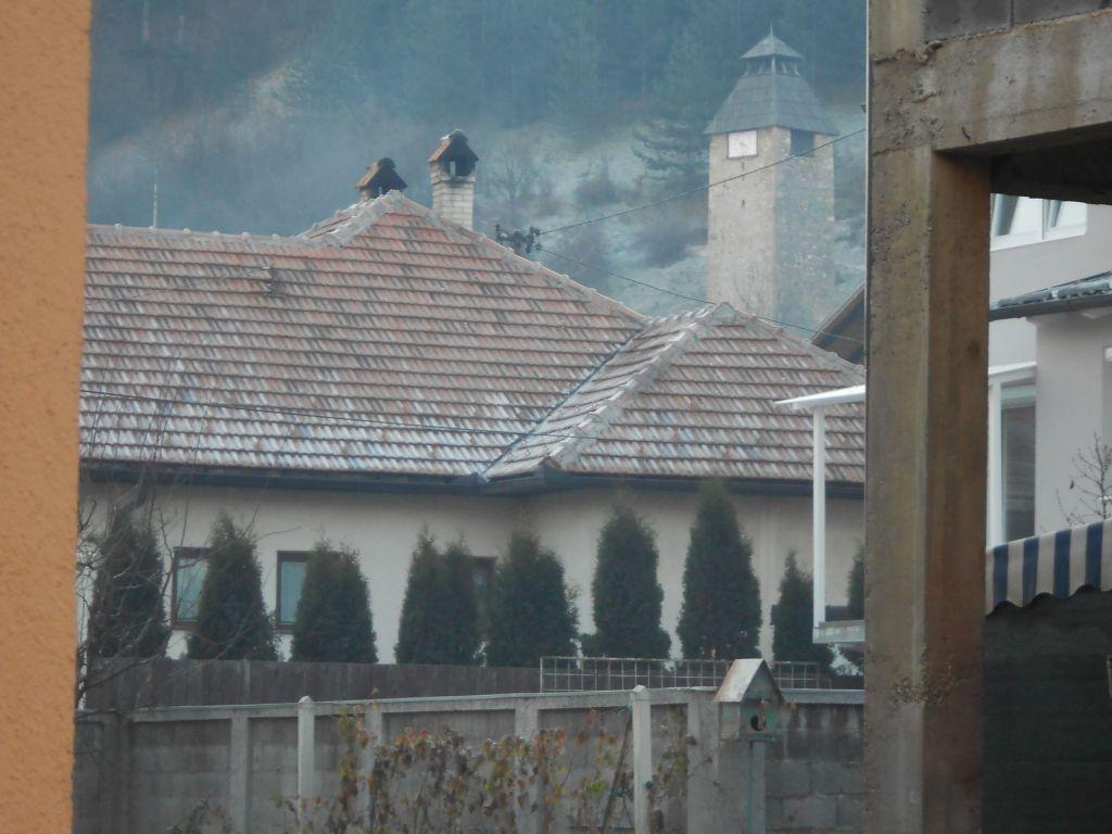 Самая низкая часовая башня в Боснии и Герцеговине. Фото: Елена Арсениевич, CC BY-SA 3.0