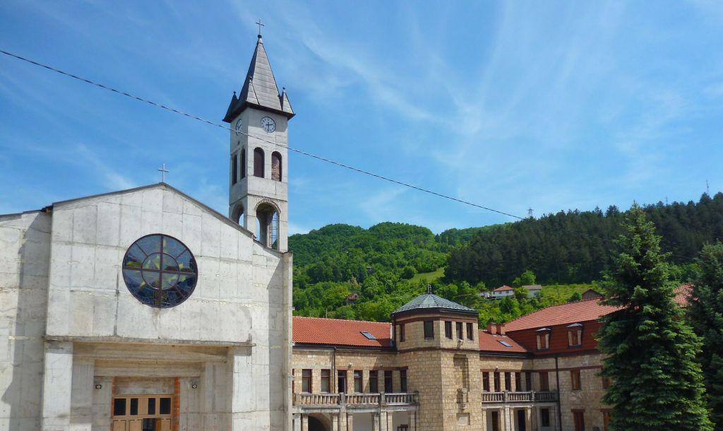Францисканский монастырь св. Луки. Фото: Елена Арсениевич, CC BY-SA 3.0