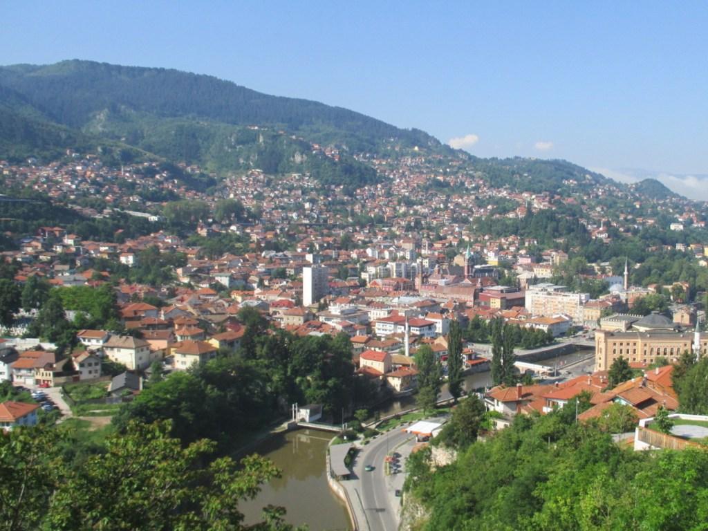 Сараево. В долине чаршия, по склонам махалы. Фото: Елена Арсениевич, CC BY-SA 3.0