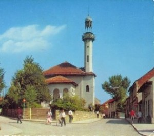 Шарена мечеть в Тузле на старой фотографии. Фото: bosnjaci.net