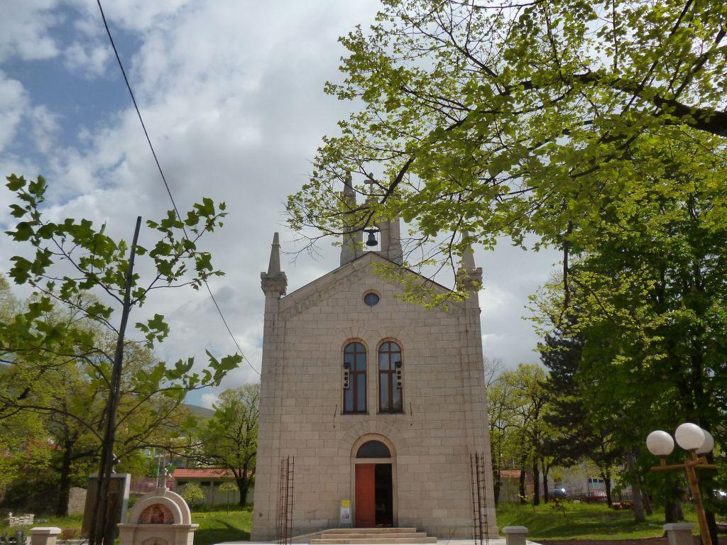 Церковь св. Саввы в центре Билечи. Фото: Елена Арсениевич, CC BY-SA 3.0