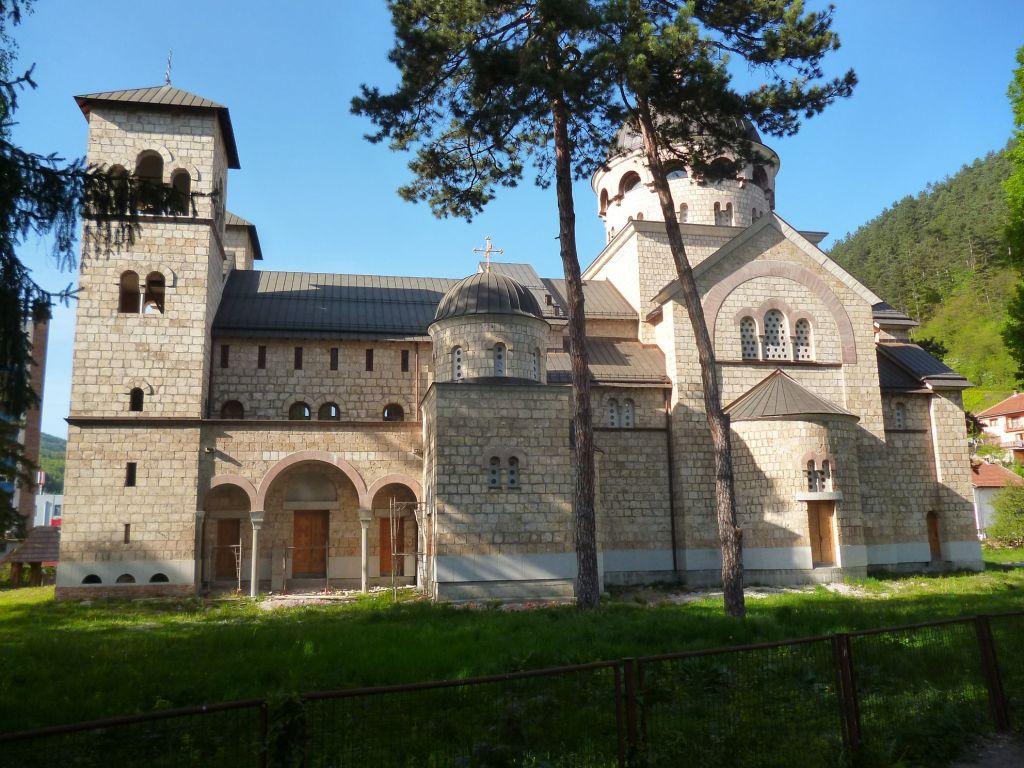 Самая большая православная церковь в Боснии и Герцеговине. Фото: Елена Арсениевич, CC BY-SA 3.0