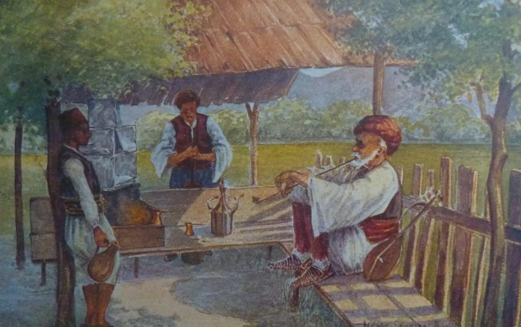 Курильщик. Неизвестный автор, public domain