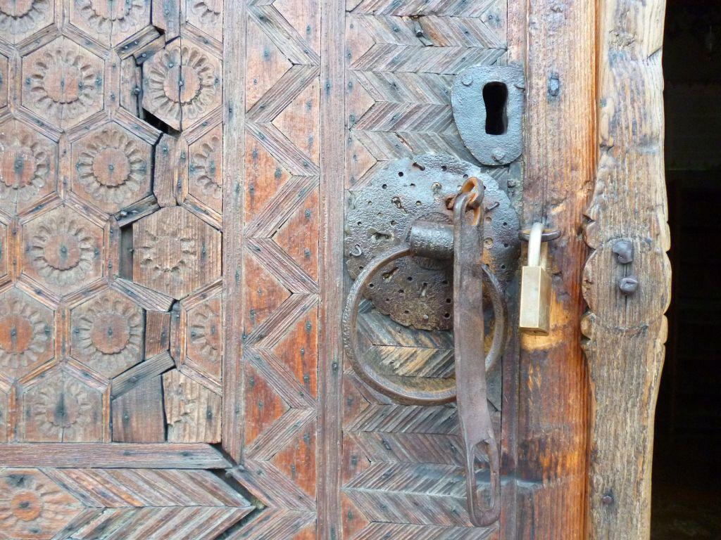Фрагмент двери. Фото: Елена Арсениевич, CC BY-SA 3.0