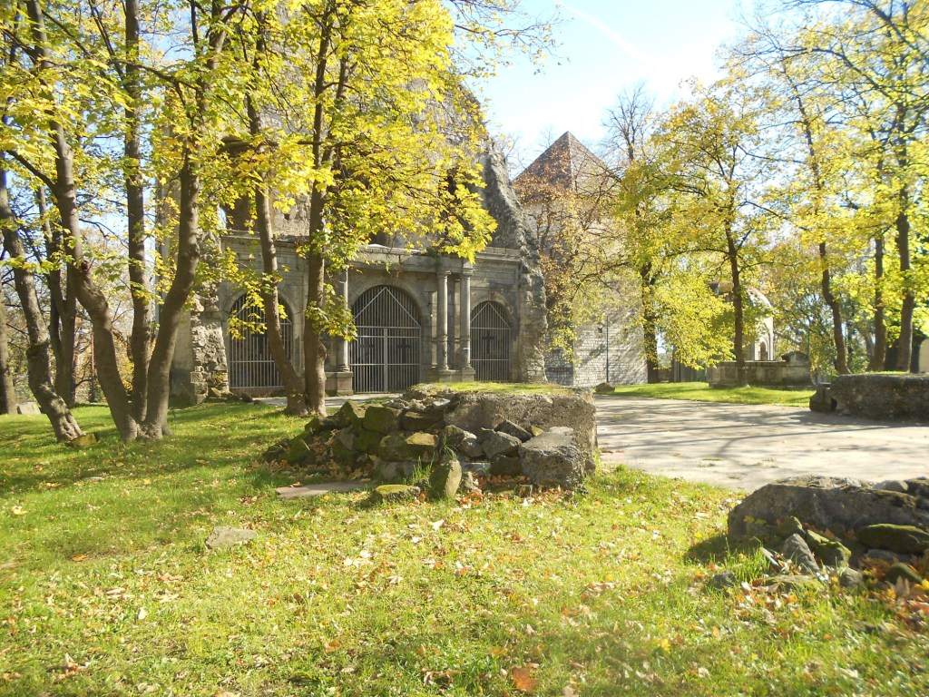 На этом месте стояла церковь. Фото: Елена Арсениевич, CC BY-SA 3.0