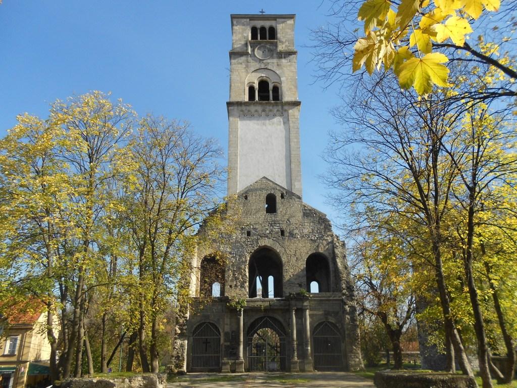 Всё, что осталось от церкви св. Анте. Фото: Елена Арсениевич, CC BY-SA 3.0