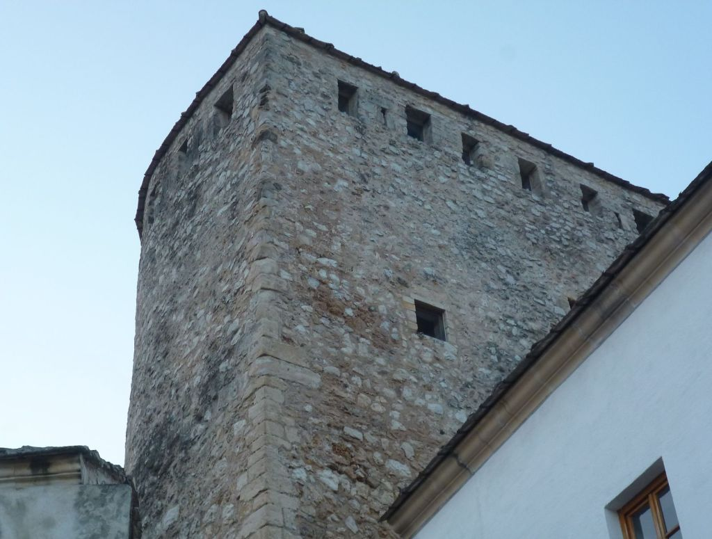 Каменная кладка башни Тары. Фото: Елена Арсениевич, CC BY-SA 3.0
