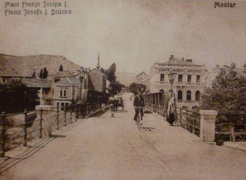 Мост в 19-м веке. Фото: Елена Арсениевич, CC BY-SA 3.0