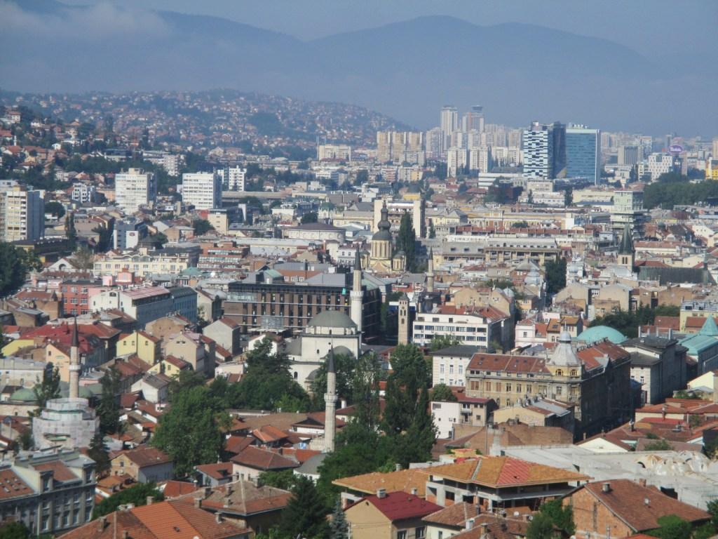 Сараево, определённо, шехер. Фото: Елена Арсениевич, CC BY-SA 3.0