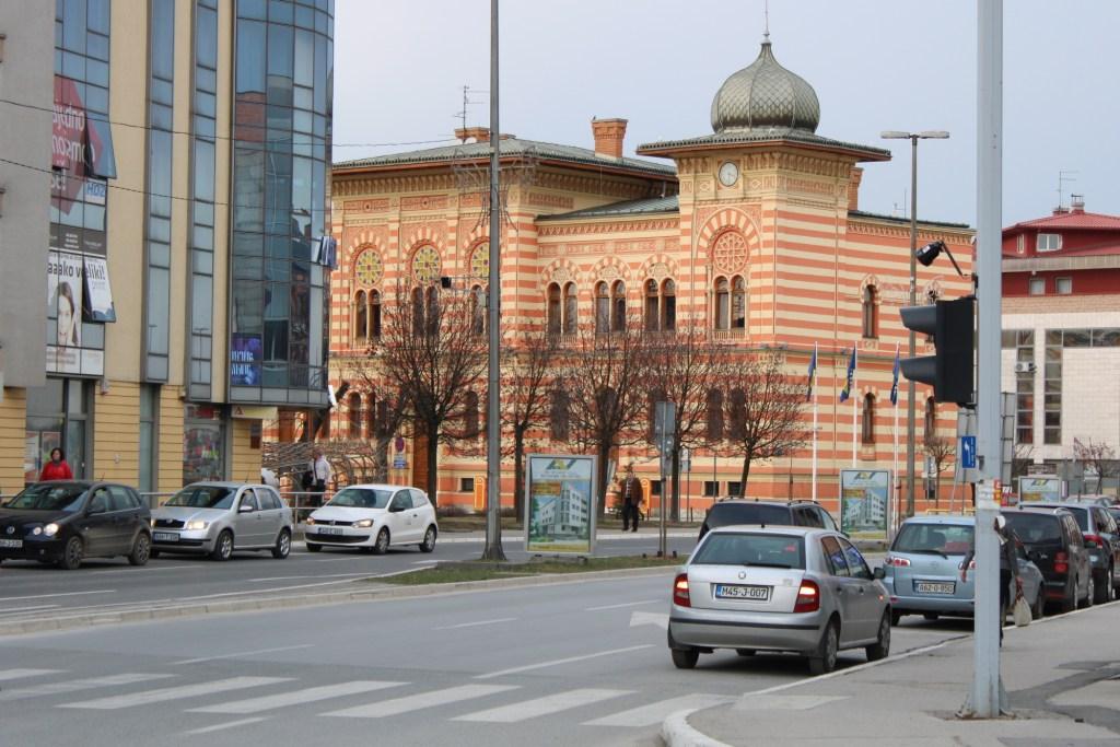 Вид с главной улицы. Фото: Елена Арсениевич, CC BY-SA 3.0