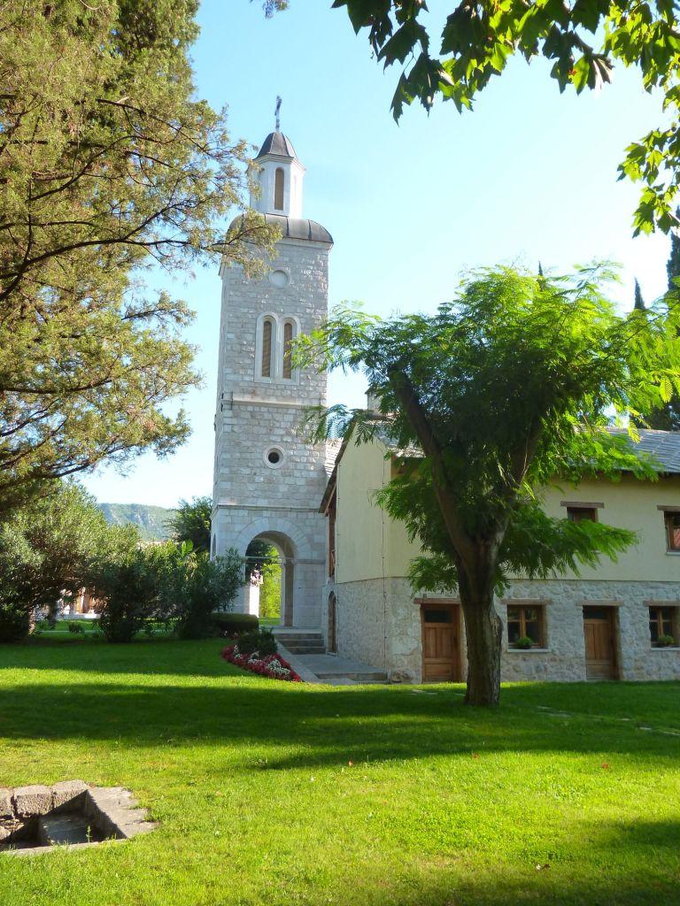 Колокольня церкви в монастыре Житомислич. Фото: Елена Арсениевич, CC BY-SA 3.0