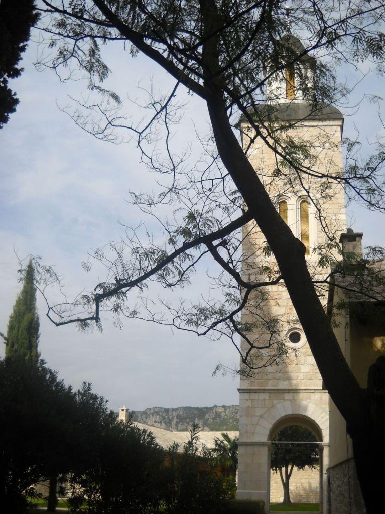 Колокольня монастырской церкви. Фото: Елена Арсениевич, CC BY-SA 3.0