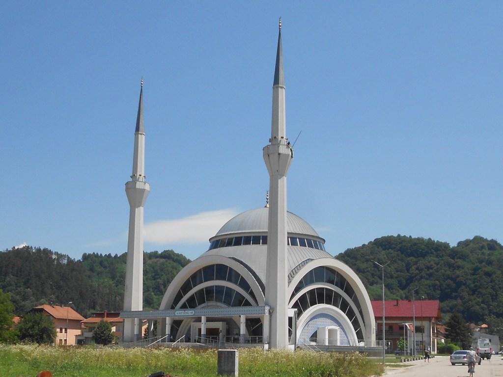 Новая мечеть в Маглае. Фото: Елена Арсениевич, CC BY-SA 3.0
