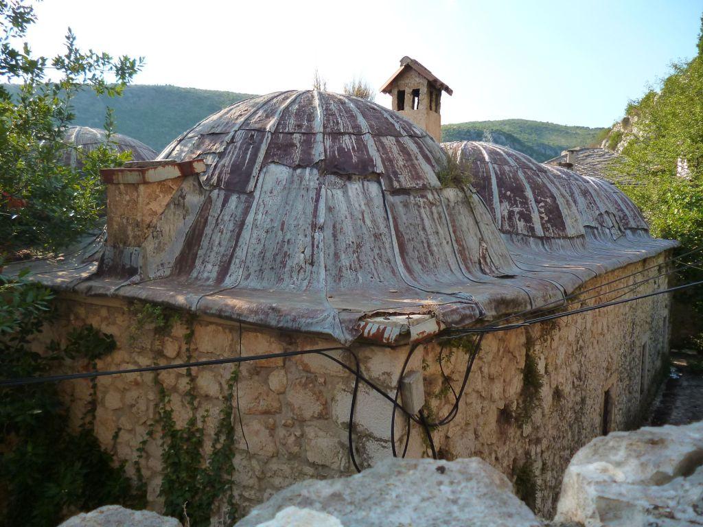 Угловой купол медресе. Фото: Елена Арсениевич, CC BY-SA 3.0