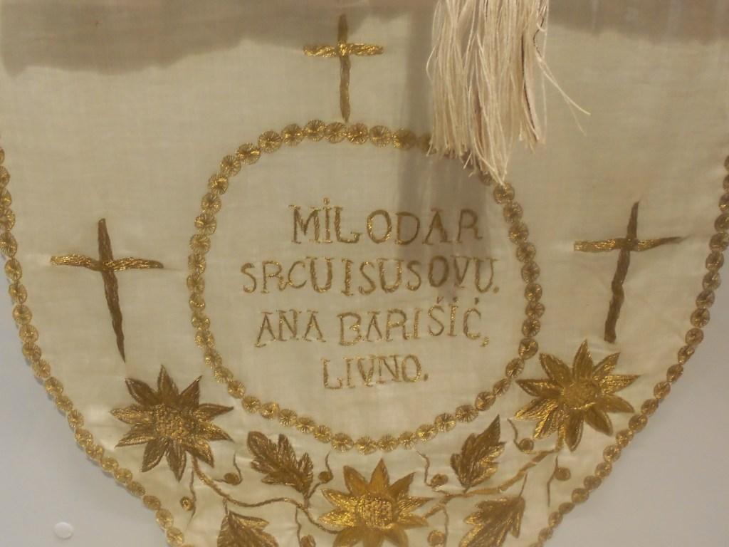 Дар церкви. Музей при францисканском монастыре в Ливно. Фото: Елена Арсениевич, CC BY-SA 3.0