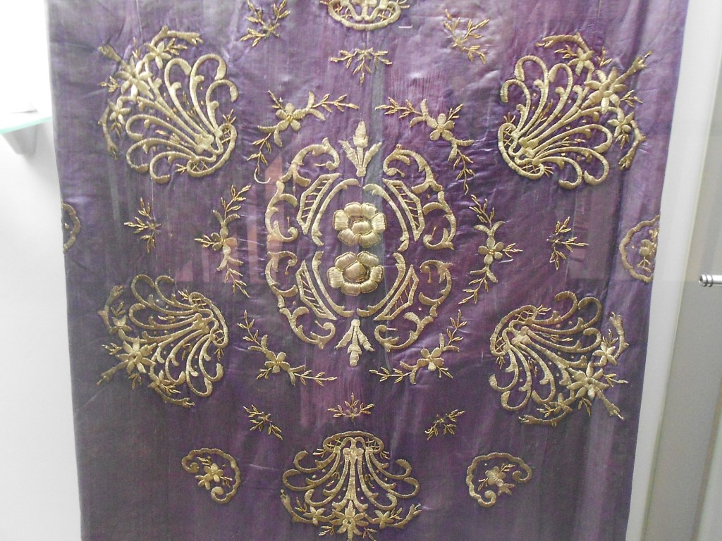 Вышитое одеяло. Музей Бруса Безистан. Фото: Елена Арсениевич, CC BY-SA 3.0