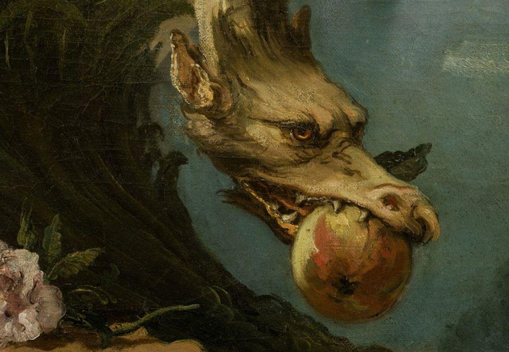 Змай-вегетарианец? Giovanni Battista Tiepolo, Public Domain