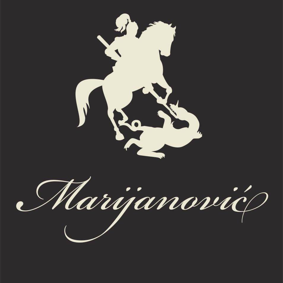 Логотип винодельни Marijanović. Vinarija Marijanović, Copyright